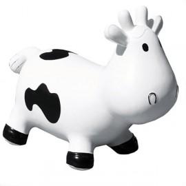 Betsy la Vache Sauteuse Blanche et Noire par Kidzzfarm