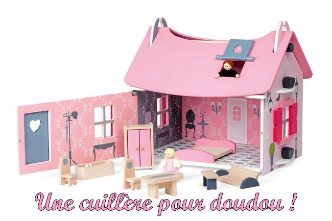 Maison de poup es little mademoiselle janod - Cuisine mademoiselle janod ...