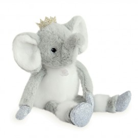 Peluche Elfy l'Éléphant Histoire d'Ours (25cm)