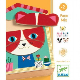 Puzzles Face mix Djeco