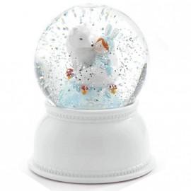 Veilleuse boule à neige poissons Djeco