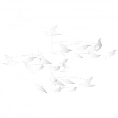 Mobile en Papier  Des oiseaux blancs Djeco