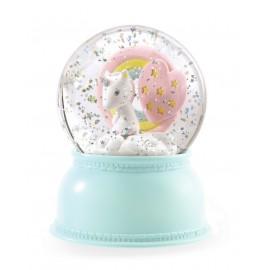 Boule à neige Lumineuse Licorne Djeco