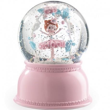 Veilleuse boule à neige ballerine Djeco