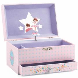 Boîte à bijoux Mélodie de la ballerine Djeco