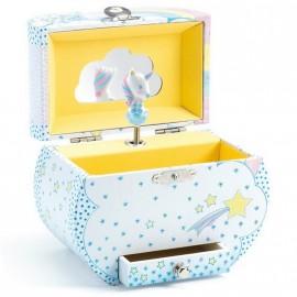 Boîte à bijoux musicale Rêves de licornes Djeco