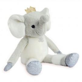 Peluche Elfy l'Éléphant Histoire d'Ours (35cm)