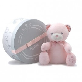 Doudou ours musical Perle rose Kaloo