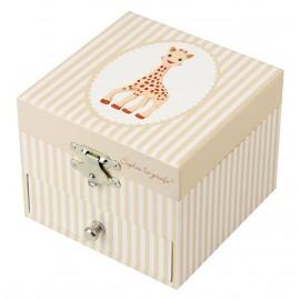 Coffret à musique cube Sophie la giraphe Trousselier