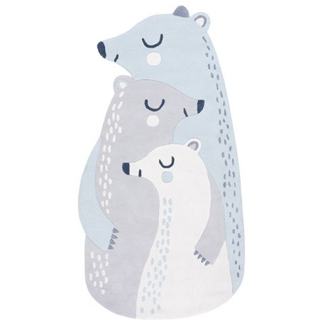 Tapis Famille Ours Lilipinso