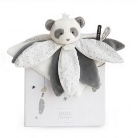 Doudou Panda pétales Doudou et Compagnie