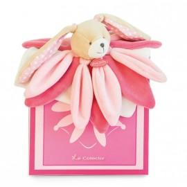 Doudou lapin collector rose Doudou et Compagnie
