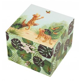 Coffret musical Cube Savane Trousselier