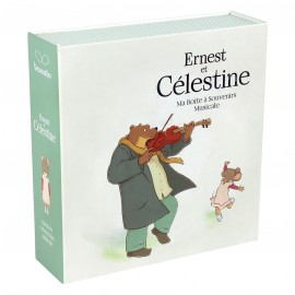 Boite à souvenirs musicale Ernest & Celestine Trousselier