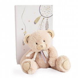 Ours beige Attrape-rêves Doudou & Compagnie (30cm)