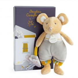 La petite souris va passer Bulu en pyjama Doudou & Compagnie