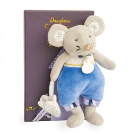 La petite souris est passée Emile en pyjama Doudou & Compagnie