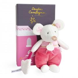 La petite souris va passer Léonie en pyjama Doudou & Compagnie