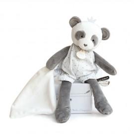 Panda avec doudou Doudou & Compagnie (personnalisable)