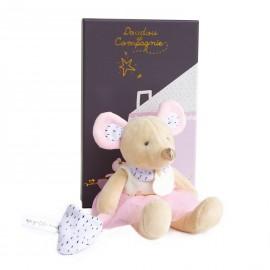 La petite souris est passée Suzie en tutu Doudou & Compagnie