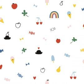Papier peint Friandises Lilipinso