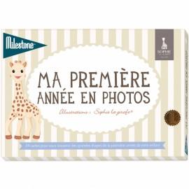 Cartes Ma première année en photos Sophie la girafe