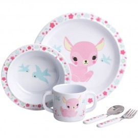Coffret repas bébé faon A Little Lovely Company