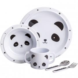 Coffret repas bébé panda A Little Lovely Company