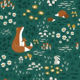 Papier peint animaux de la forêt Lilipinso