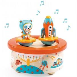 Boîte à musique Space Melody Djeco