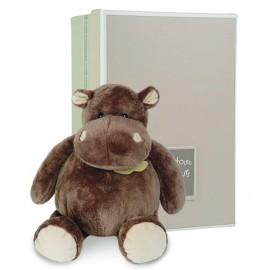 Peluche Hippo assis 23cm Histoire d'Ours