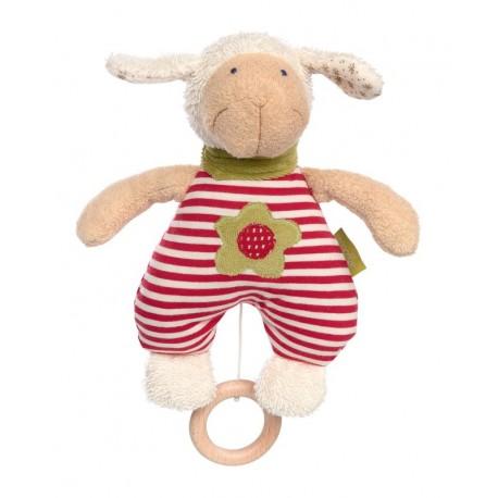 Peluche musicale Mouton coton bio Sigikid