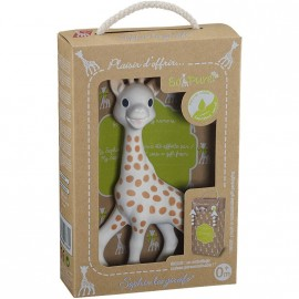 "Coffret Sophie la girafe ""So Pure"" prêt à offrir"