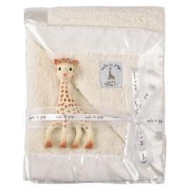 Coffret couverture Prestige Sophie la girafe avec jouet