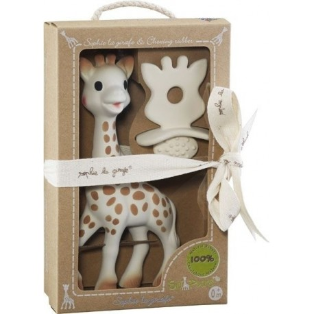Sophie la girafe + Natural soother So'Pure
