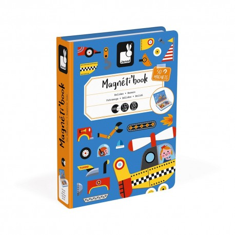 Magnéti'book bolides Janod 50 magnets