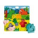 Puzzle Cache-Cache Dino Janod