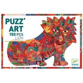 Puzzle Lion Puzz'art 150 pièces Djeco