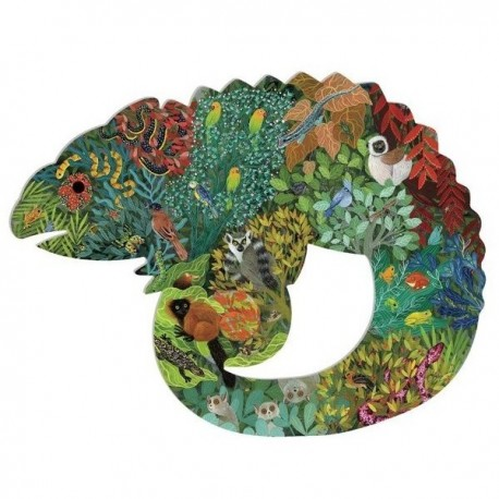 Puzzle Chameleon Puzz'art 150 pièces Djeco