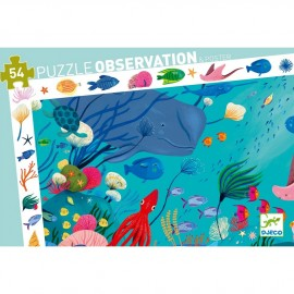 Puzzle d'observation aquatique Djeco (54pcs)