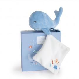 """Baleine bleue & doudou """"Sous l'océan"""" Doudou & Compagnie"""