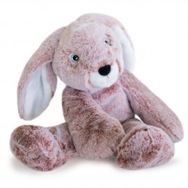 Peluche Lapin rose Sweety Mousse Histoire d'Ours (40cm)
