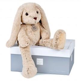 Peluche lapin Copains Câlins beige (70cm) Histoire d'Ours