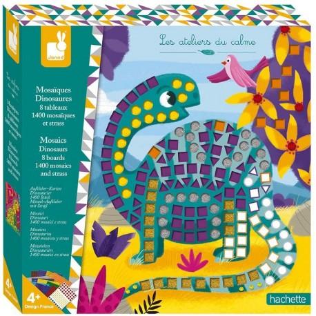 Mosaiques Dinosaures Kit Créatif Janod