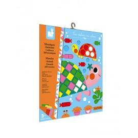 Mosaiques Animaux Kit Créatif Janod