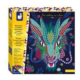 Mosaiques Créatures fantastiques Kit Créatif Janod