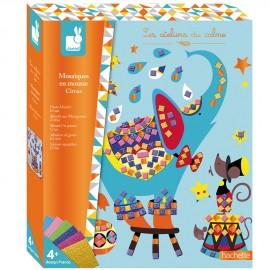 Mosaiques en mousse circus Set créatif Janod