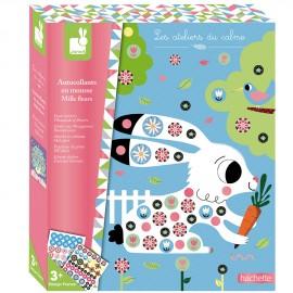Stickers en mousse Mille fleurs Set créatif Janod