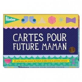 """Cartes souvenirs """"Pour future maman"""" Milestone"""