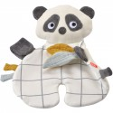 Doudou bio Étiquettes Panda Kikadu (GOTS)